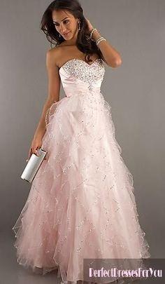 Fluffy elegant prom dress :)