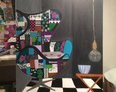 Original Acrylic Painting on Canvas 24X30 Etsy Art, Acrylic Painting, Modern Painting,Decorative Art,Wall Art by Zana Lokmer, Interior Art - Edit Listing - Etsy