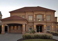 casas estilo toscano - Buscar con Google