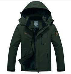 UNCO&BOROR winter jacket outwear fleece thick warm cotton down coat waterproof windproof