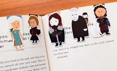 Fandom bookmarks from Craft'ed   Holiday Gift Guide for Book Addicts (from The Book Addict's Guide)