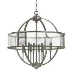 Graphite - Mid. Chandeliers Candle Capital Lighting   LIGHT`N UP!