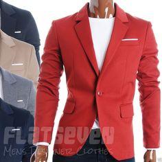 FLATSEVEN Mens Slim Fit Casual Premium Blazer Jacket (BJ102) Collection #FLATSEVEN #Blazer #mensfashion #men #clothing #jacket #FLATSEVEN #outfits