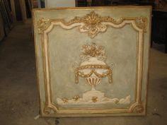 Boiserie panel French Armoire, Antique Armoire, Antique Items, French Living Rooms, Kitchen Cabinet Doors, Architectural Elements, French Country, Hand Carved, Carving