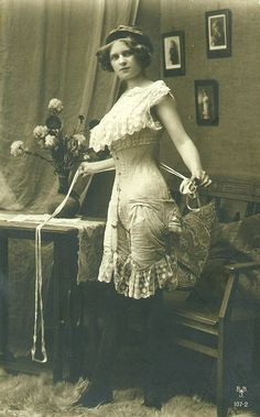 vintage corset photo