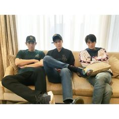 """180323 weareone.exo Instagram Update with #Chanyeol, #Sehun and #Kai: """"In Hong Kong"""""""