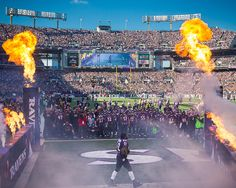 Ray Lewis' final entrance