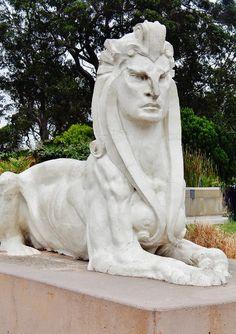 golden gate park, san fran Garden Sculpture, Lion Sculpture, Golden Gate Park, San Francisco, Statue, Outdoor Decor, Art, Art Background, Kunst