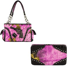Real Tree Camouflage, Pink Camouflage, Camo Purse, Wild Orchid, Mossy Oak, Shoulder Bag, Handbags, Wallet, Purses