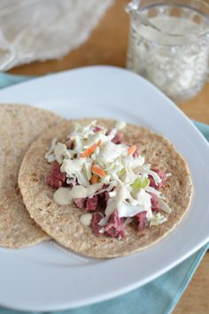 Foodista | Corned Beef and Cabbage Nachos