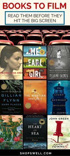 Another great reading list shared with the Shopswell community. These books are coming to film soon. Read then before they come to the big screen. #bookstofilms #books #greatreads