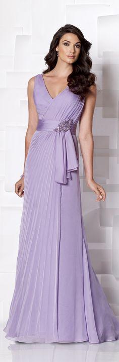 Cameron Blake ~ Haute Couture perfect mother of bride dress. Beautiful Gowns, Beautiful Outfits, Color Lila, Colour, Lavender Dresses, Dress Vestidos, Evening Dresses, Formal Dresses, Fashion Designer