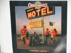"Charlie Daniels Band - Homesick Heroes - Country Bluegrass - ""Big Bad John"" - Epic Records 1988 - Vintage Vinyl LP Record Album by notesfromtheattic on Etsy"