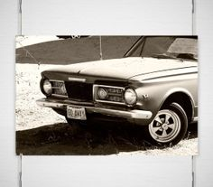Classic Car Photograph  Signed Fine Art by lostkatphotography, $25.00