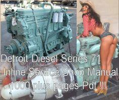 details about detroit diesel inline series 71 service manual details about detroit diesel series 71 inline service manual workshop 1973 3 71 4 71 6 71