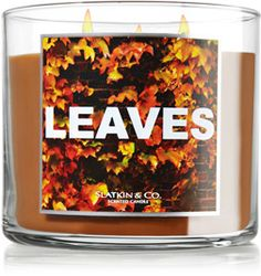 Fall candle scents out at Bath & Body Works