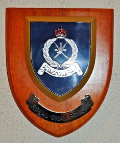 Greater Manchester Police Constabulary Wall Plaque UK Made for MOD