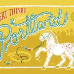 The Horse Project - A Locals Guide to Portland Oregon on Global Yodel by designer Mette Hornung Rankin. Check out globalyodel.com for more exciting locals guides and great illustration.