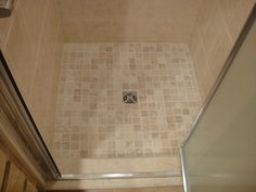 custom shower built with the wedi fundo shower system comes with shower pan curb