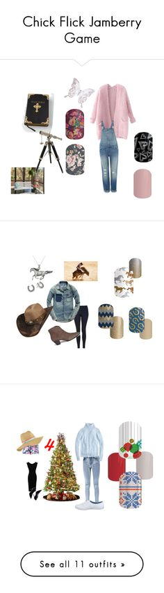 """""""Chick Flick Jamberry Game"""" by lauren-dalrymple ❤ liked on Polyvore featuring Kimberly Wolcott, MARBELLA, Home Decorators Collection, Chicnova Fashion, Levi's, Topshop, Bailey Western, Ash, Carolina Glamour Collection and Betsey Johnson"""