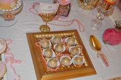 Love this picture frame tray! Birthday Party Ideas | Photo 1 of 56 | Catch My Party