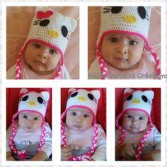 bonnet hello kity