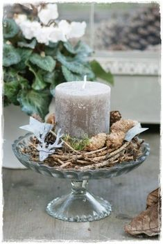 Lady-Gray-Dreams: Photo - New Ideas Noel Christmas, Christmas Projects, Winter Christmas, Christmas Wreaths, Christmas Ornaments, Rose Gold Christmas Decorations, Christmas Candles, Xmas Decorations, Candle Lanterns