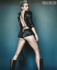 miley cyrus new v magazine covers photos | Miley Cyrus: All Grown Up | Vibe