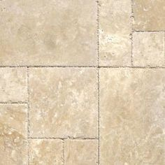 MS International Tuscany Beige Pattern Honed-Unfilled-Chipped Travertine Floor and Wall Tile (5 Kits / 80 sq. ft. / Pallet)-TTBEIG-PAT-HUFC at The Home Depot