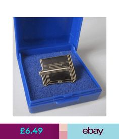 Elegant Collectable Badges Upright Piano Lapel Pin Badge Brooch Music Gift Present    Gift Boxed #ebay