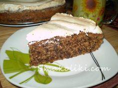 Ореховый пирог с безе. Пошаговый рецепт с фото на Smakoliki.com