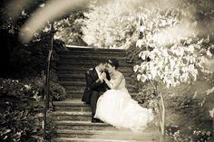 wedding photo in Alexander Muir park Toronto