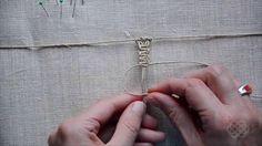 Macrame first steps, basic knots #1 (Square Knot)