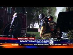 http://www.facebook.com/hoodnews247  Man Blows Himself Up Inside Costa Mesa Home