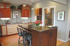 Some Bellmont Cabinetry