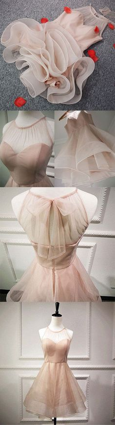 Stylish A line tulle short prom dress,homecoming dresses · Prettyqueenprom · Online Store Powered by Storenvy Party Dress Outfits, Prom Party Dresses, Homecoming Dresses, Evening Dresses, Bridesmaid Dresses, Dress Party, Elegant Dresses, Pretty Dresses, Beautiful Dresses