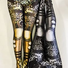 @KendraNockleby Steampunk Gear Leggings | 17 Leggings Every Nerdy Girl Needs In Her Life