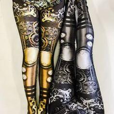 @KendraNockleby Steampunk Gear Leggings | 17 Leggings Every Nerdy Girl Needs In Her Life