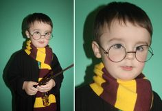 Harry Potter fancy dress idea - to see more great ideas click the image