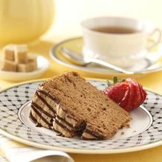 Chocolate Angel Food Cake Recipe - new recipe release from Taste of Home 10-4-12