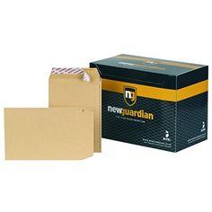 New Guardian Peel And Seal Manilla Envelopes - Envelopes Pocket Envelopes, Seal, Office Supplies, Window, Products, Windows, Gadget, Harbor Seal