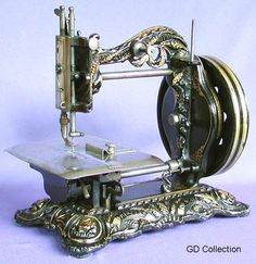 """The """"Princess of Wales"""" was Newton Wilson's largest selling lockstitch model during the 1870s.The ornate castings proved very popular with the British Victorian middle classes"""
