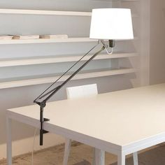 Lektor Clip On Lamp by Carpyen Carpyen Lektor Clip On Lamp was designed by Gabriel Teixido in the year 2010. Carpyen Lektor Clip On lamp has direct and diffuse light. This lamp is fully adjustable and