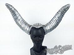 Silver Horned Headdr