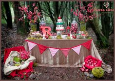 little red riding hood themed events | Little Red Riding Hood dessert table shoot, styled by the fabulous ...