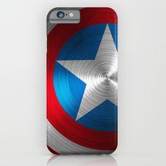 Captain America iPhone & iPod Case