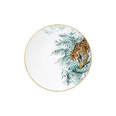 Hermés' carnets d' équateur porcelain collection depicts robert dallet's animal kingdom
