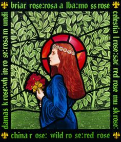 Sacred Rose, Brian Waugh  #stained #glass