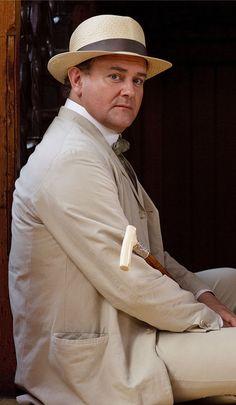 Downton Abbey Summer costume- oh the hat! Watch Downton Abbey, Downton Abbey Series, Downton Abbey Fashion, Lady Sybil, Hugh Bonneville, Poldark, Edwardian Era, Your Turn, Beautiful People