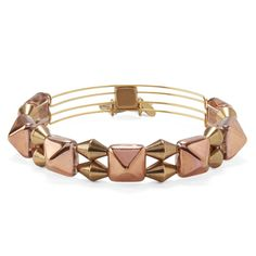 Copper Impulse Beaded Bangle   Indie Spirit Collection